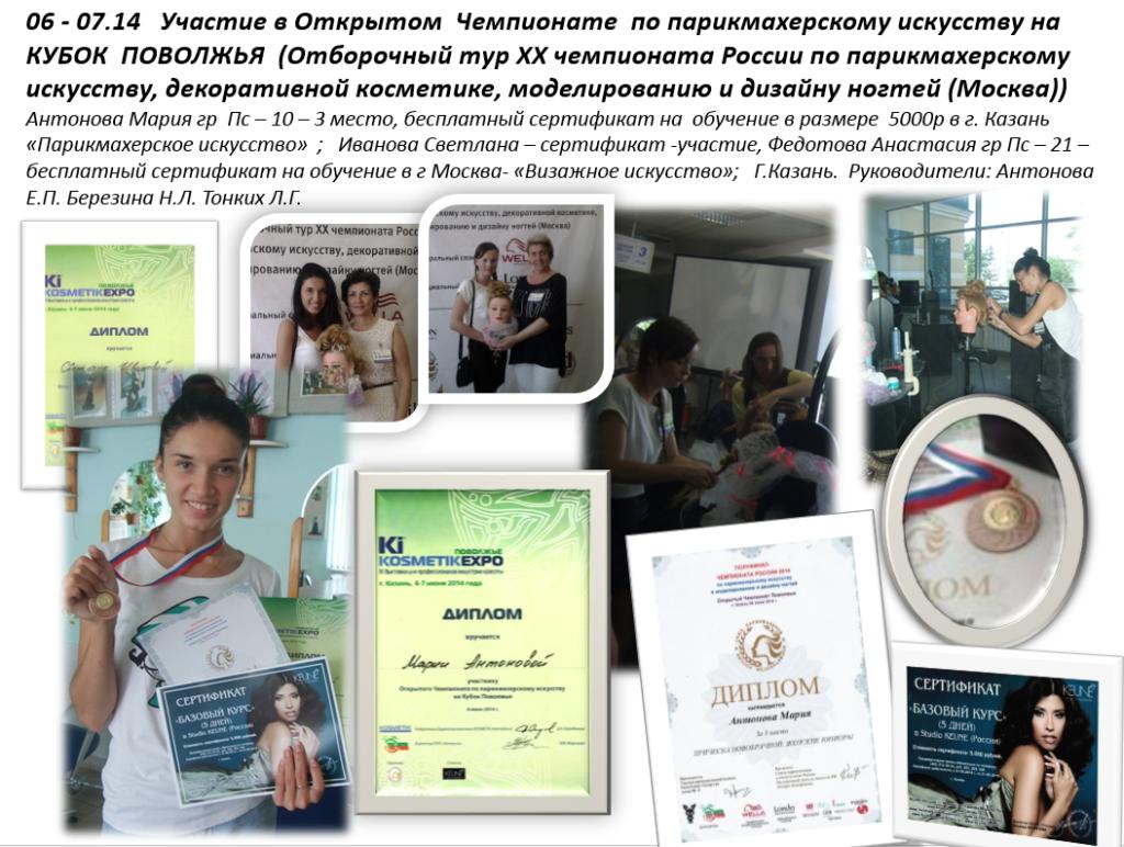 Профессиональное образование, конкурсы