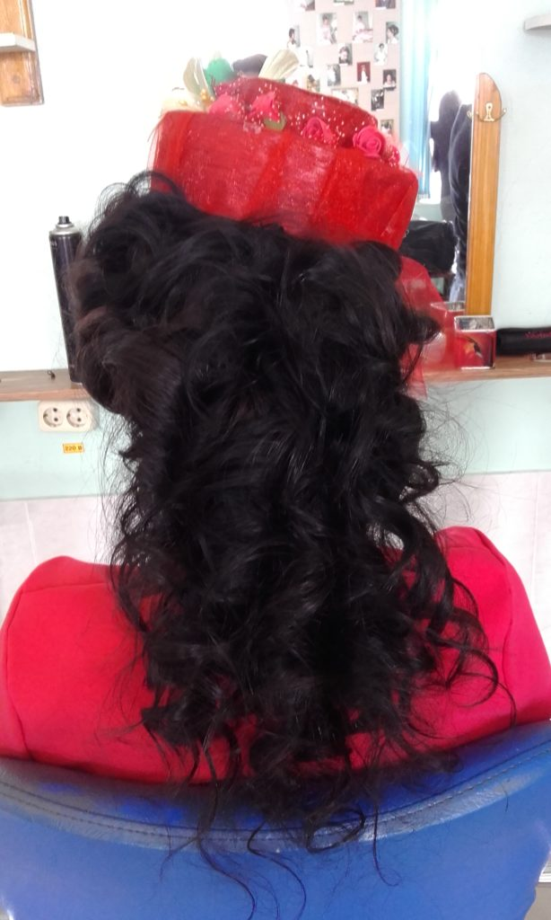Постижерные работы из волос