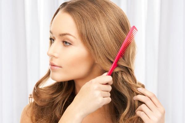 Как сделать чтобы волосы были уложенными 852